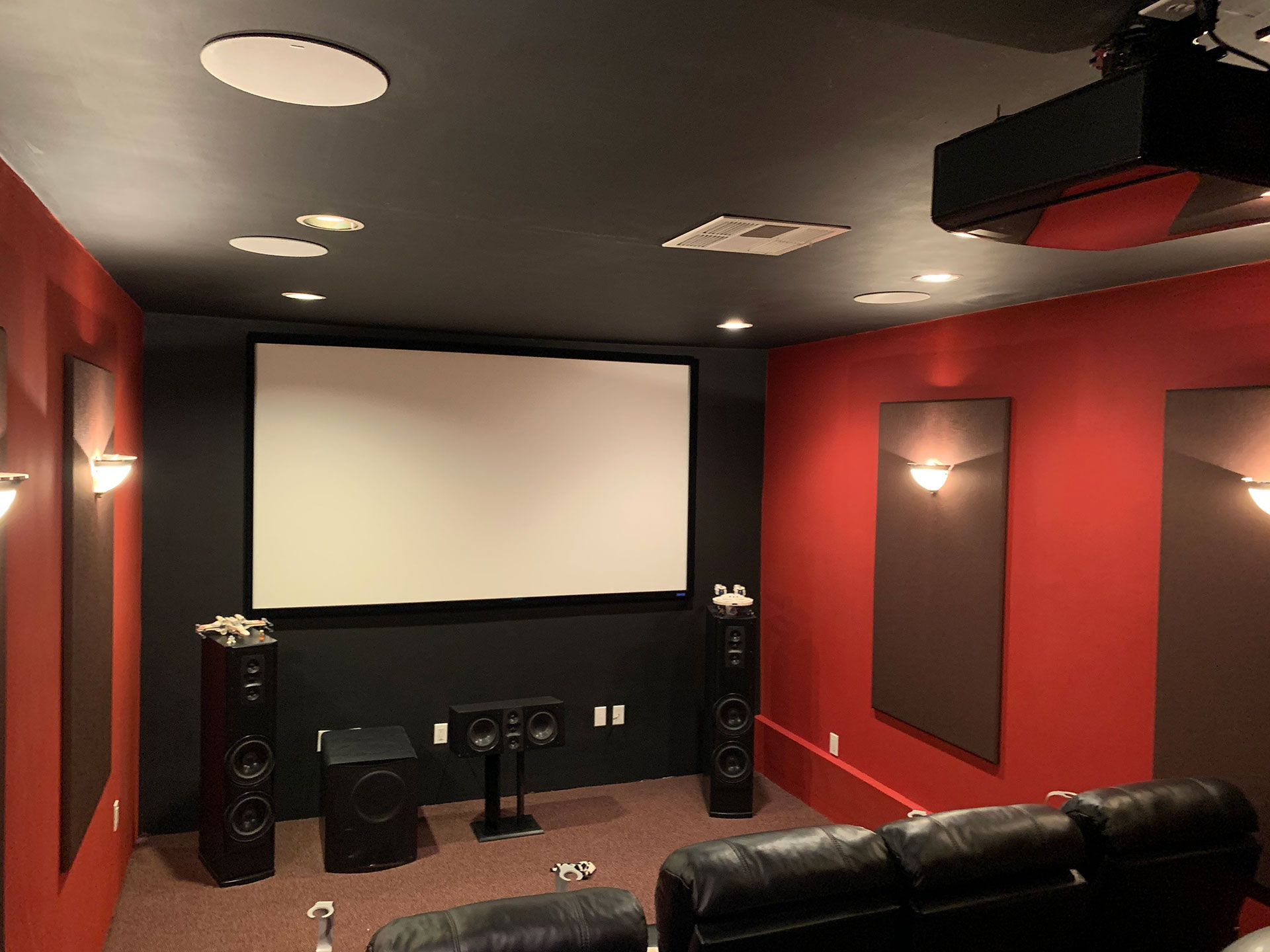 Home Theatre systems installation
